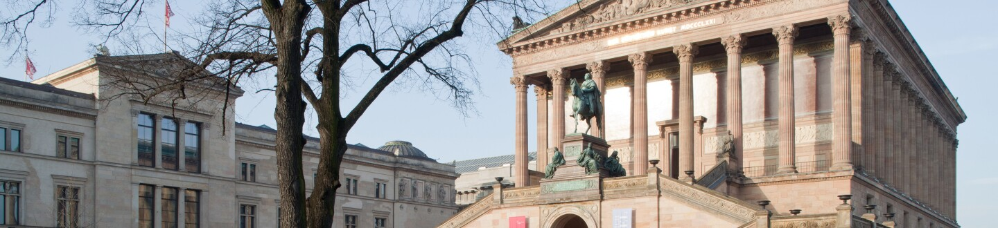 Exterior View, Alte Nationalgalerie