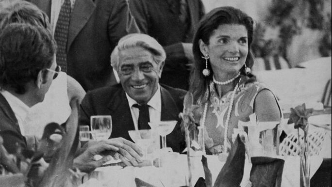 Aristotle and Jacqueline Onassis
