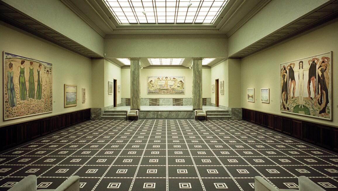 Interior View, Kunsthaus Zürich