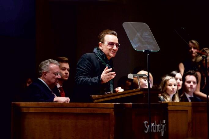 Bono at Sotheby's