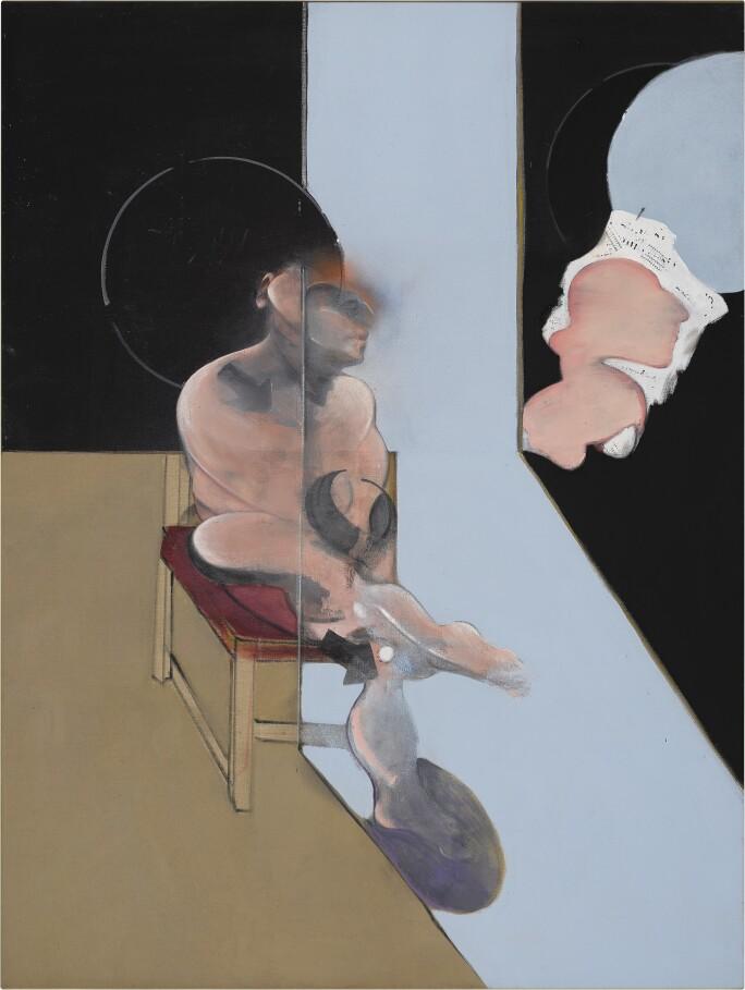 Francis Bacon, STUDY FOR PORTRAIT, 1981. Estimate $12,000,000–18,000,000.