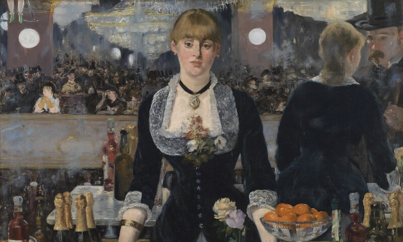 A Bar at the Folies-Bergère, Edouard Manet, 1882