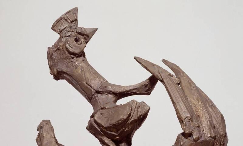 Startled Bird 1955 by Bernard Meadows 1915-2005