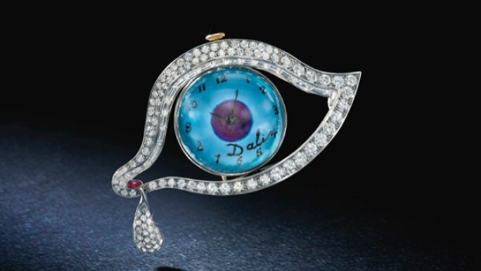The Eye of Time jewel by Salvador Dalí