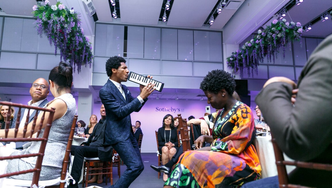 Sotheby's Honors The Studio Museum in Harlem : Celebrating Creating Space: Artists for The Studio Museum in Harlem
