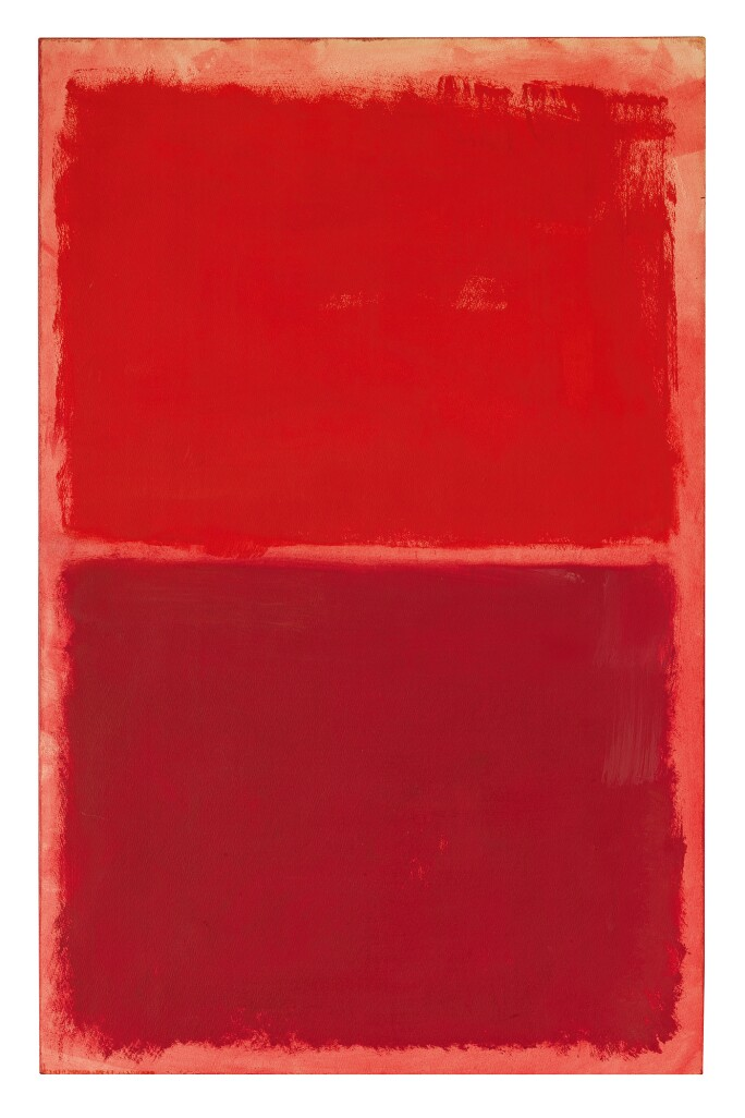 Mark Rothko, Untitled (Red on Red)