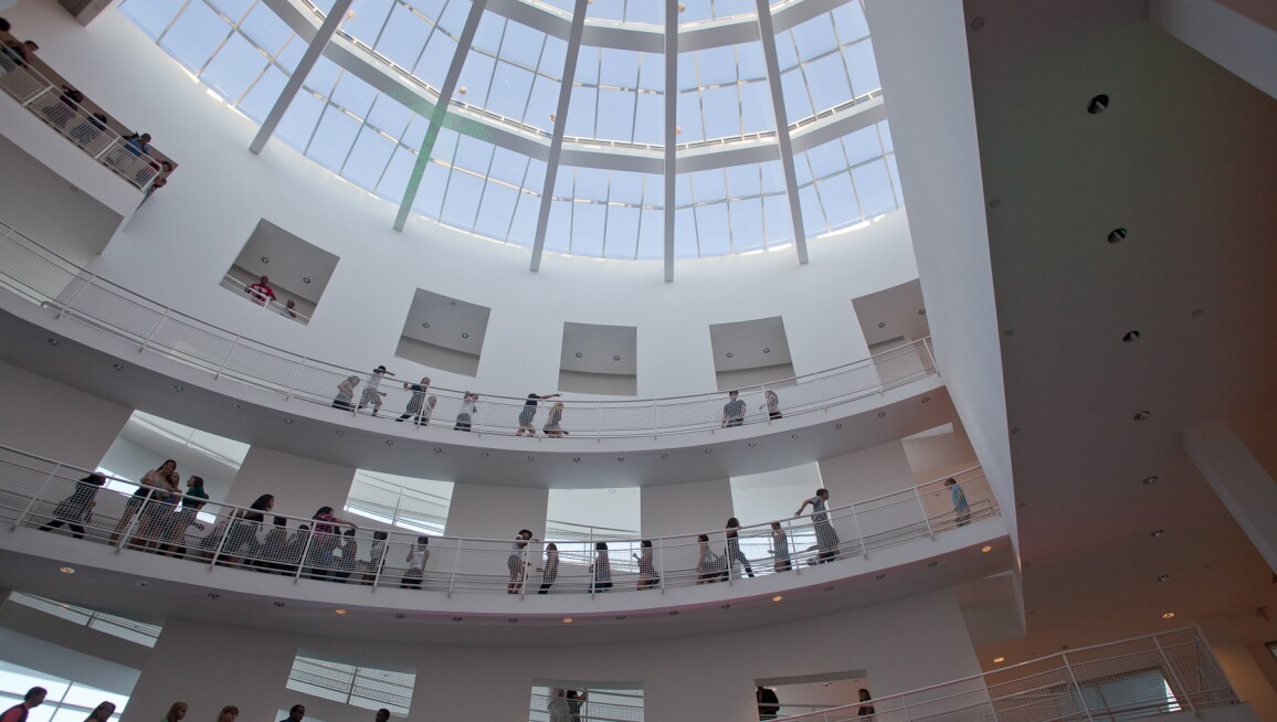 Interior View, High Museum of Art