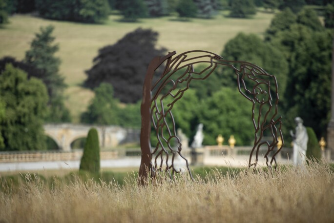 Sculpture from Chatsworth Outdoors exhibition
