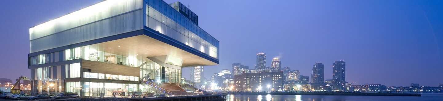 Exterior View, Institute of Contemporary Art, Boston