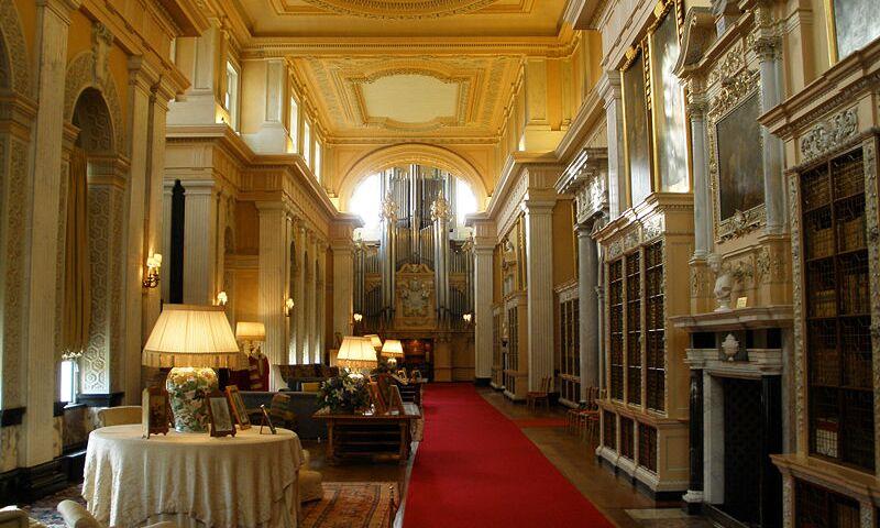 Blenheim Palace, Interior