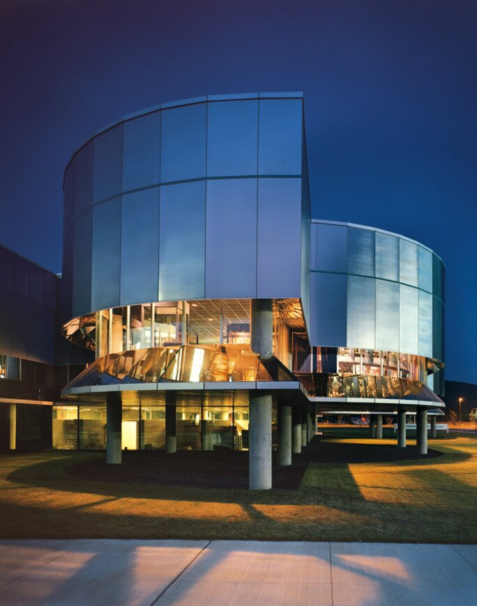 Exterior View, Corning Museum of Glass