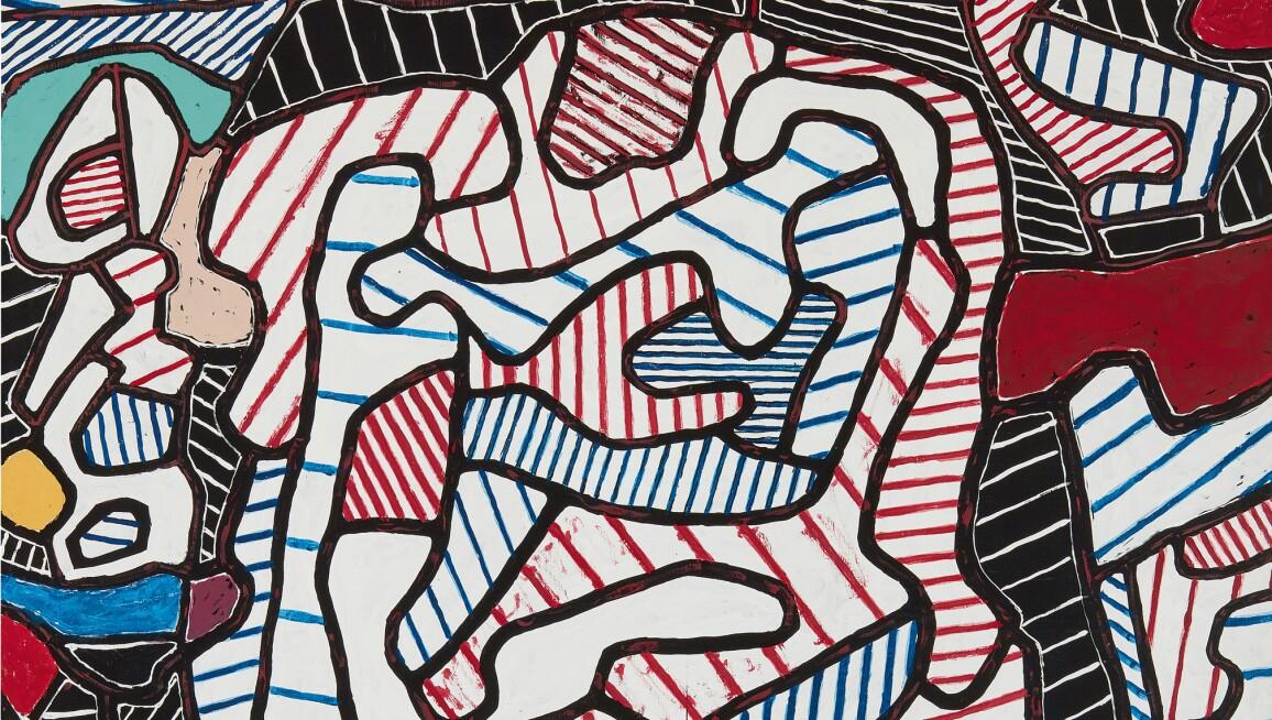 Jean Dubuffet La Chaise
