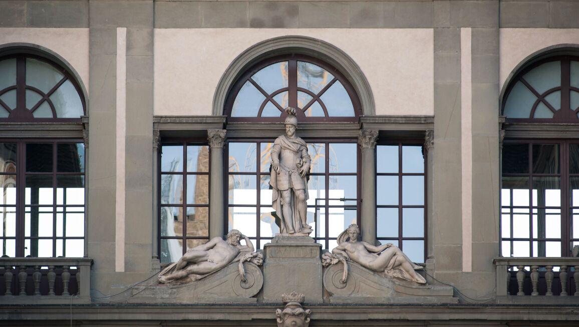 Interior View, The Uffizi Gallery