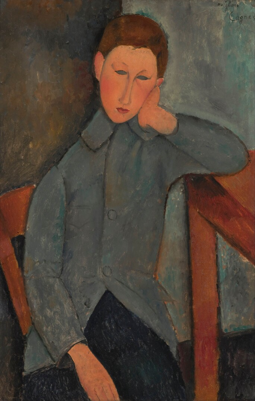 The Boy / A. Modigliani / Painting, 1919