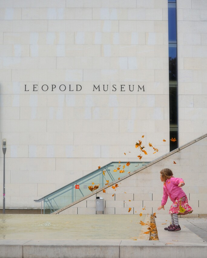 Leopold Museum in the Fall Season.