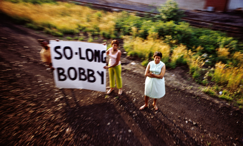 Paul Fusco, Untitled, from the series RFK Funeral Train, 1968