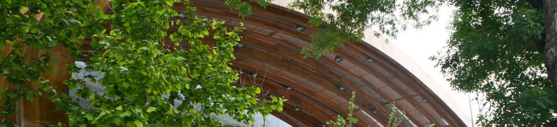 Exterior view of Beijing Planning Exhibition Hall.