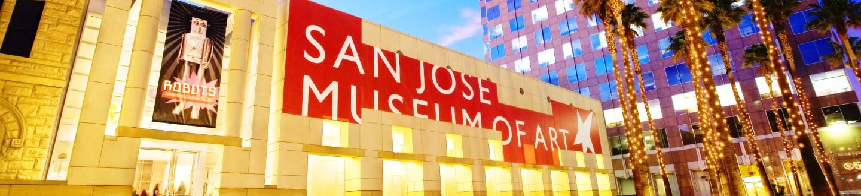 Exterior View, San Jose Museum of Art