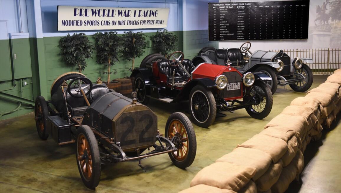 Interior View, The Simeone Foundation Automotive Museum