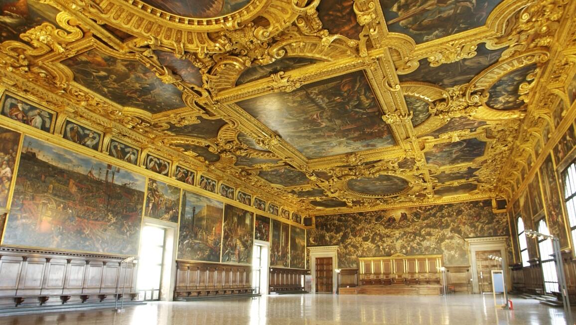 Interior View, Palazzo Ducale