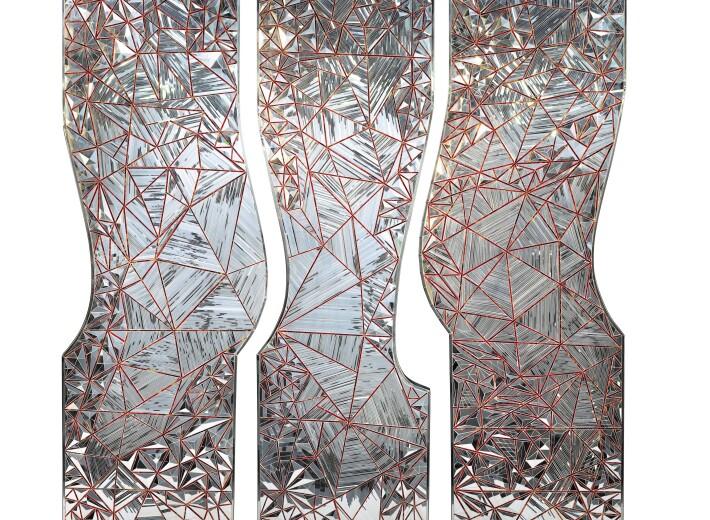 sculpture by Monir Farmanfarmaian in an auction selling contemporary Iranian art