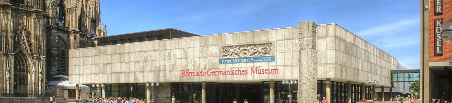 Exterior view of the Romano-Germanic Museum.