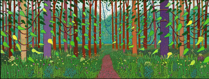 david-hockney-forest-scene-with-path
