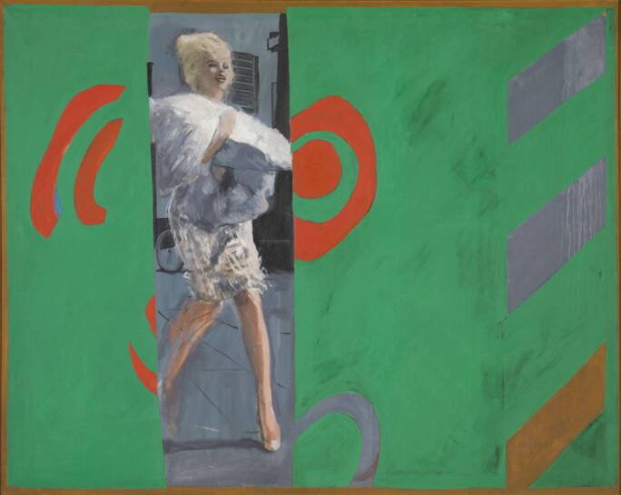 The Only Blonde in the World 1963 by Pauline Boty 1938-1966
