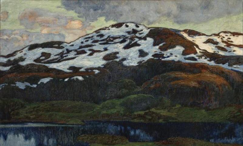 Helmer Osslund--A Summer Evening by Kallsjon.jpg
