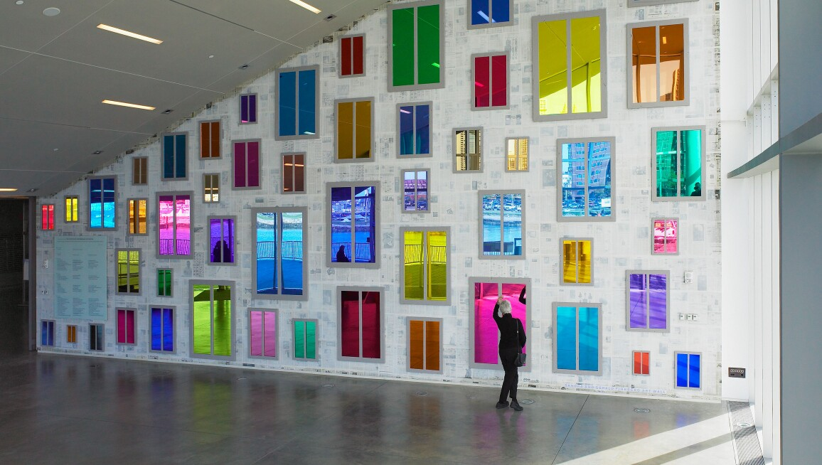 Interior View, Institute of Contemporary Art, Boston