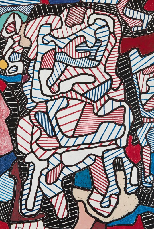 Jean Dubuffet, La Chaise