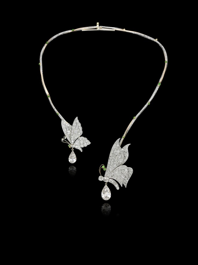 Eliane Fattal, Butterflies necklace