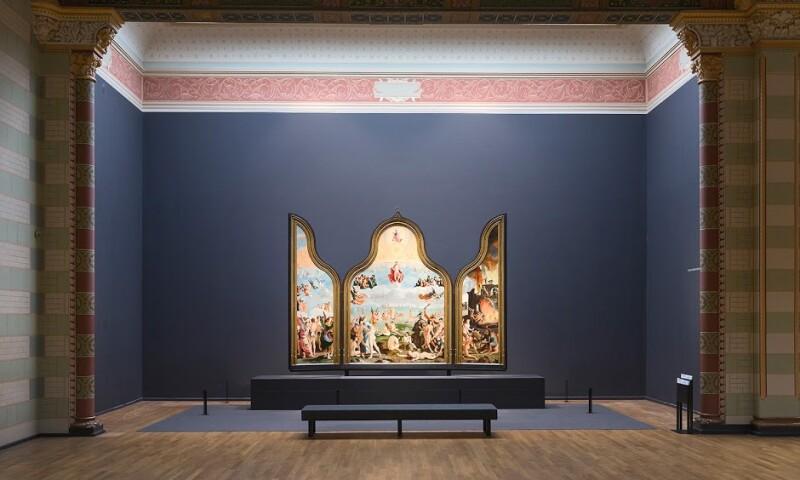 Lucas van Leyden, The Last Judgement (1526-27). Collection Museum De Lakenhal, Leiden