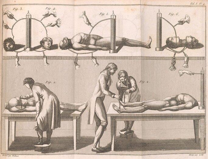 Benoît Pecheux, Giovanni Aldini, Essai théorique et expérimental sur le galvanisme, Paris: De l'imprimerie de Fournier Fils, 1804.