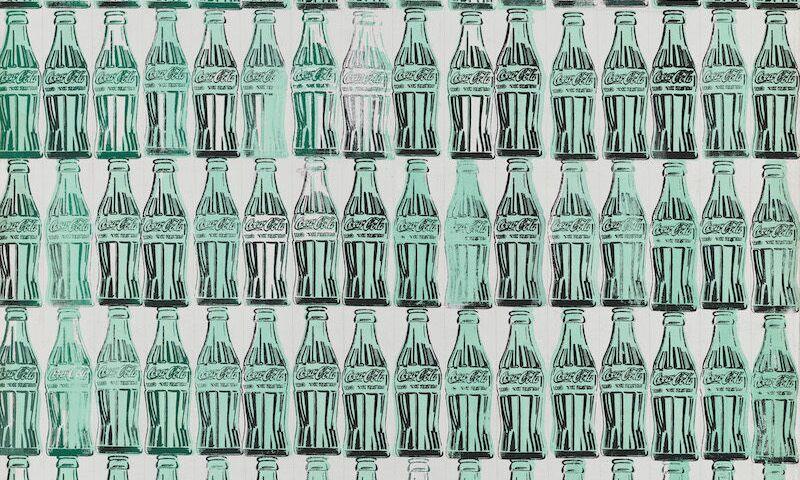 Andy Warhol, Green Coca Cola Bottles