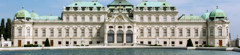 Exterior View, Belvedere Museum