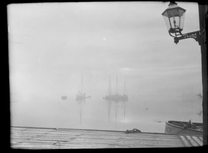 Harald Sohlberg, From the Aker River, photograph, 1910 (Nasjonalmuseet, Oslo)