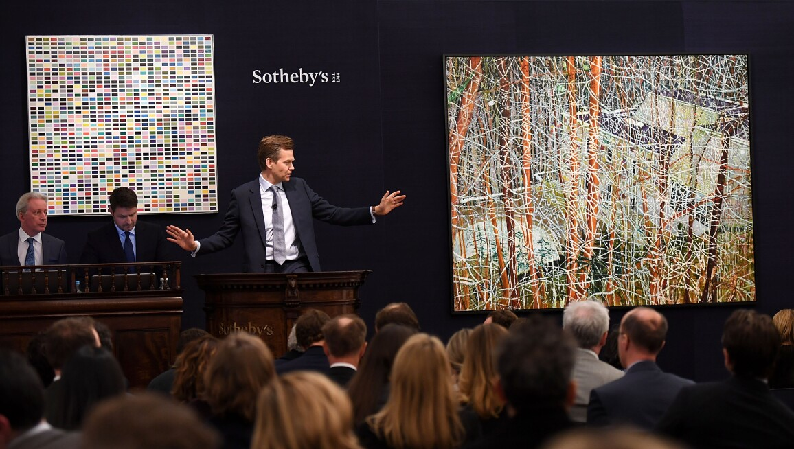 Sotheby's Contemporary Evening Auction
