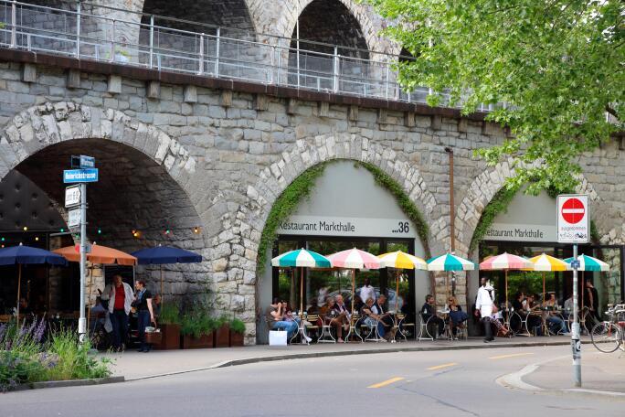 Switzerland Zurich Viadukt