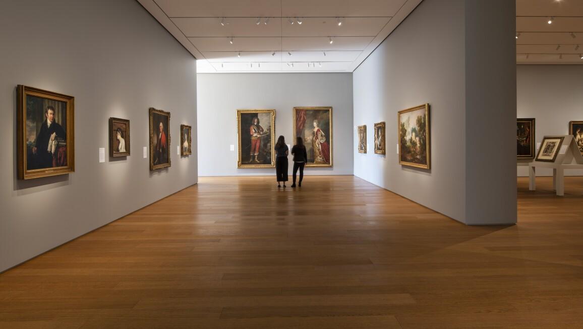 Interior View, Norton Museum of Art