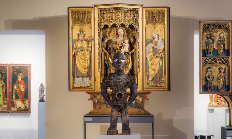 Beyond Compare: Art from Africa in the Bode Museum, exhibition view