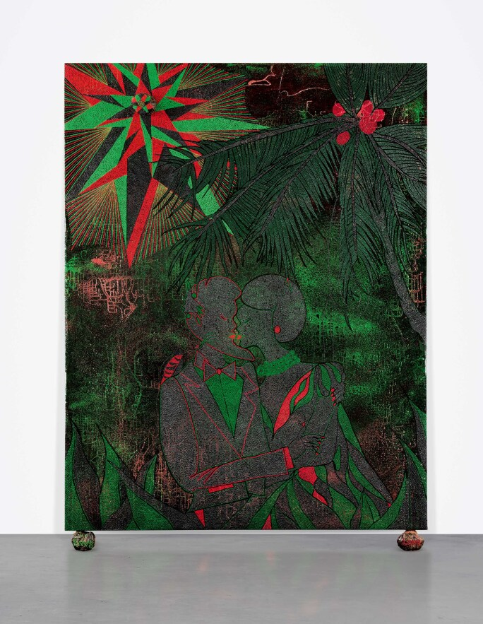 Chris Ofili, Afro Love and Envy