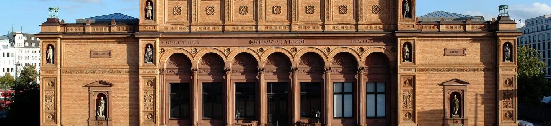 Exterior View, Hamburger Kunsthalle
