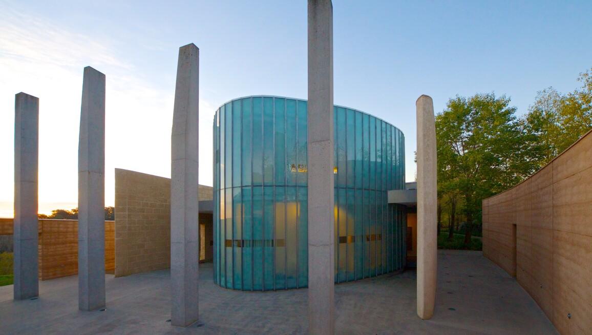 TarraWarra Museum of Art Courtyard