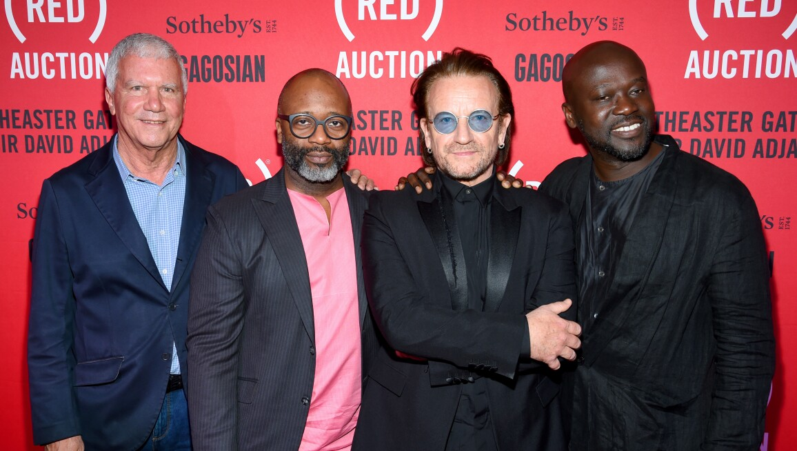 The (RED) Auction With Theaster Gates, Sir David Adjaye And Bono, In Collaboration With Sotheby's And Gagosian