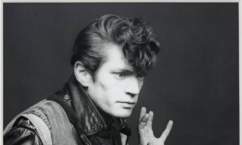 Self Portrait 1983 by Robert Mapplethorpe 1946-1989