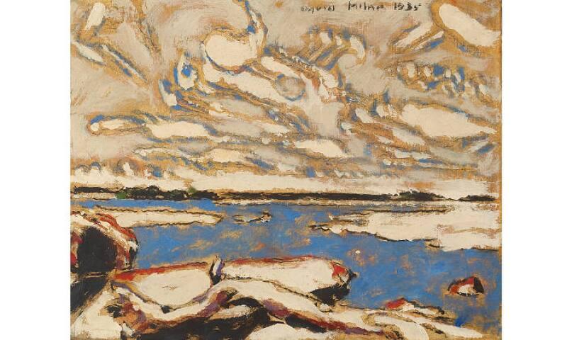 David Milne, Blue Lake