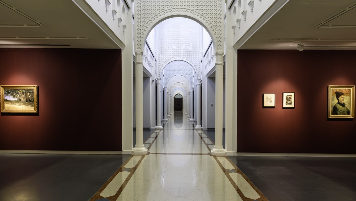 Interior View, Sharjah Art Museum