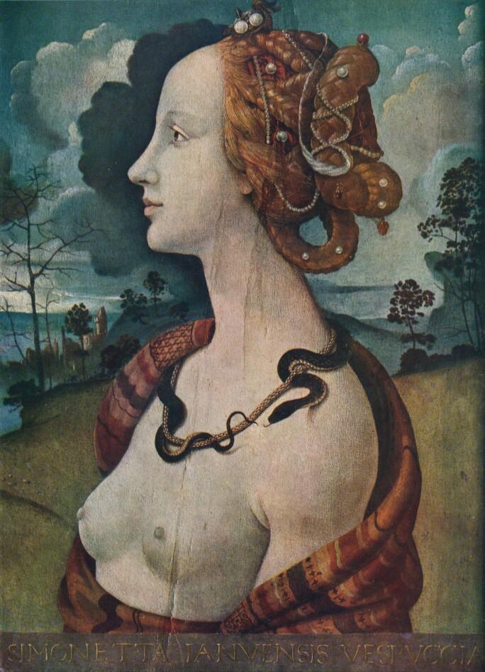 Portrait Of Simonetta Vespucci C1480 (1939)