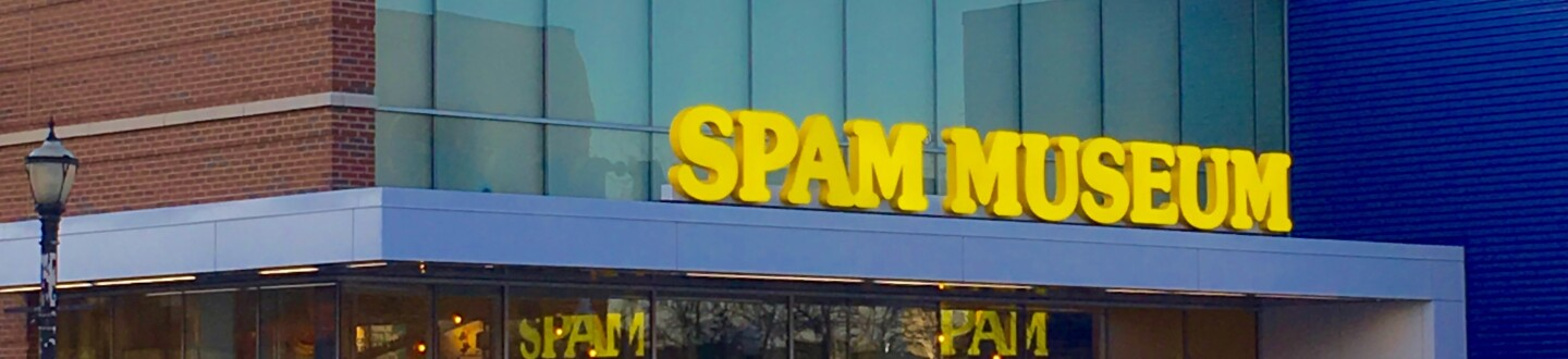 Exterior view of SPAM Museum.